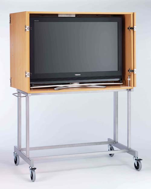 LC-717 LOCKABLE LCD TV CABINET