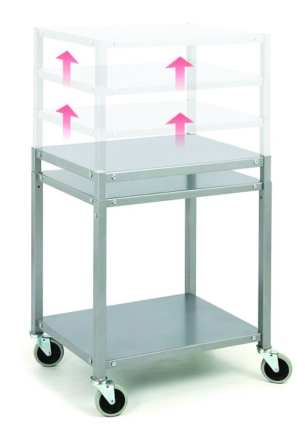 HAT-009 General purpose trolley - height adjustable Heavy duty