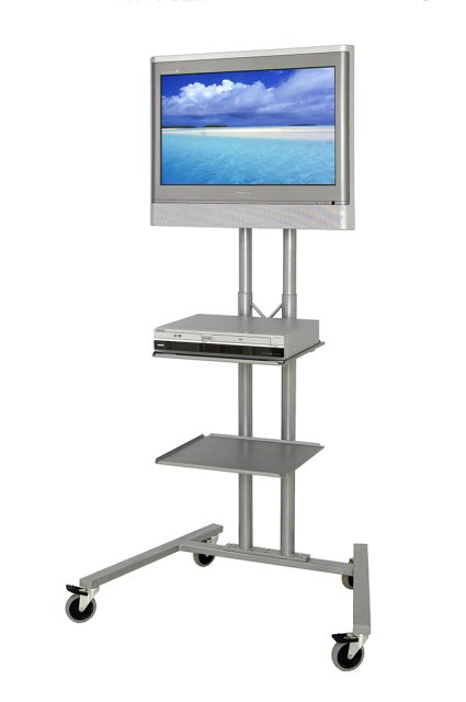 ACS-567 Optional height adjustable shelves for LCD TV Trolley